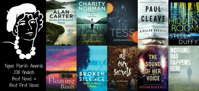 Ngaio Marsh Awards 2018 finalists